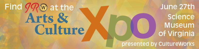 Find JRW at the Arts & Culture Xpo June 27th