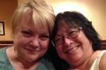 Emyl Jenkins Award Chair Shauna Christos and 2014 Award Winner Denise Golinowski