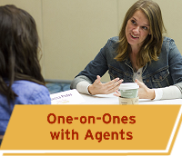 One-on-One Meetings with Literary Agents