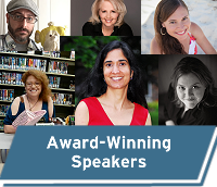 Learn more about our award-winning speakers
