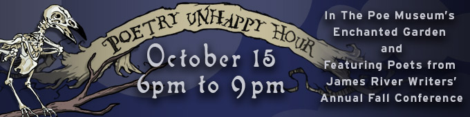 Poetry UnHappy Hour banner