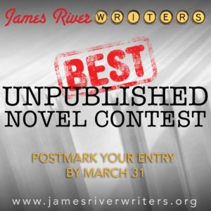 James River Writers Unpublished Novel Contest