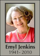 Author and Writer Advocate Emyl Jenkins