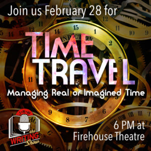 Time Travel Writing Show graphic