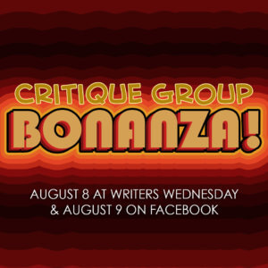 Critique Group Bonanza