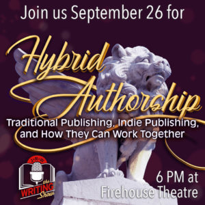 The Writing Show Hybrid Authorship graphic